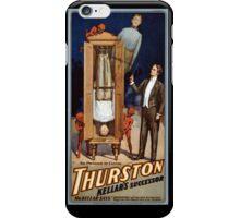 Thurston Kellar's successor 1908 Vintage Poster iPhone Case/Skin