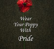 Wear Your Poppy with Pride by Country  Pursuits