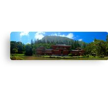 The Byodo-in Temple Canvas Print