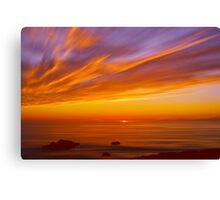 SunBurst SeaScape Canvas Print