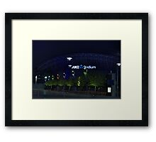 ANZ Stadium Framed Print