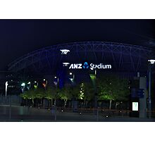 ANZ Stadium Photographic Print