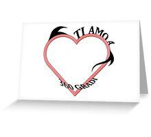 Ti Amo A 360 Gradi Greeting Card