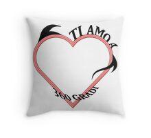 Ti Amo A 360 Gradi Throw Pillow