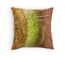Silken Room - Macro Throw Pillow