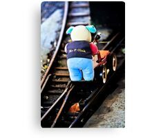 Mr P Oink Canvas Print