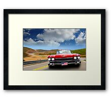 Cadillac USA Framed Print