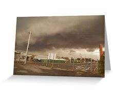 storm cell Greeting Card