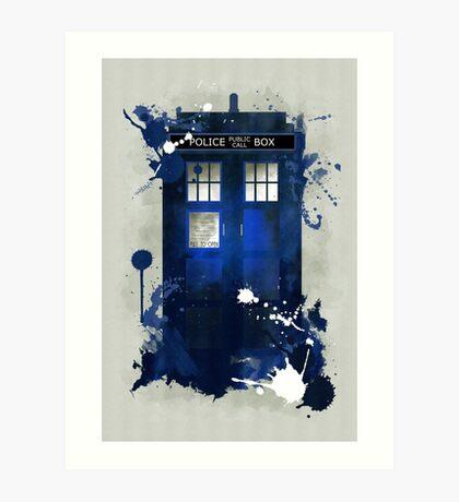 Doctor Who: Tardis Giclee Art Print Art Print