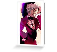 Jon Pertwee as the 3rd Doctor Greeting Card