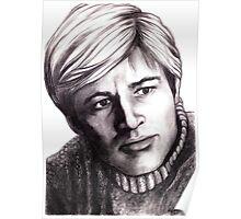 Robert Redford celebrity portrait Poster