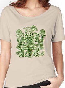 Xiuhtecuhtli, RGB Gods, Myths & Monsters Women's Relaxed Fit T-Shirt