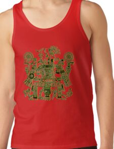 Xiuhtecuhtli, RGB Gods, Myths & Monsters Tank Top