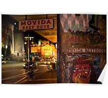 Movida Next Door @ Night Poster