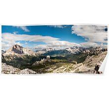 Averau Panorama Poster