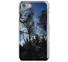 Wooded Silhouette  iPhone Case/Skin