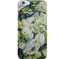 Bride's Bouquet Close Up iPhone Case/Skin
