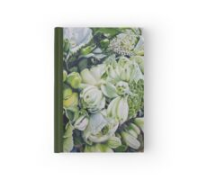 Bride's Bouquet Close Up Hardcover Journal