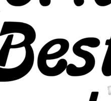 World's Best Daughter Sticker