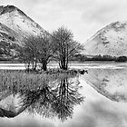 Brothers Water Reflection - Lake District, Cumbria, UK by ExclusivelyMono