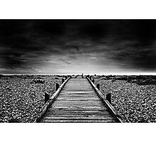 Dungeness Boardwalk Photographic Print
