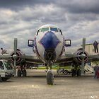 Refueling -- EAL DC-7B by njordphoto