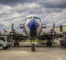 Refueling -- EAL DC-7B by njordphoto