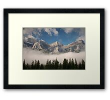Chill In The Air Framed Print