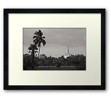Ruwanweliseya - Anuradhapura, Sri Lanka Framed Print