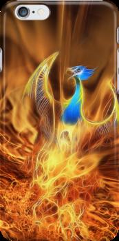 Phoenix iPhone Case by John Edwards