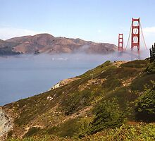 Golden Gate Bridge, San Francisco, USA by logonfire