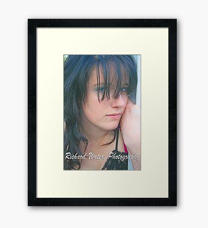"""Angel Eyes"" Framed Print"