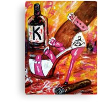 It's the weekend 2 Canvas Print