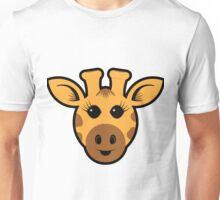 Adorable Giraffe Unisex T-Shirt