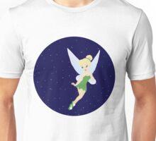 Tinkerbell Starry Sky. Unisex T-Shirt