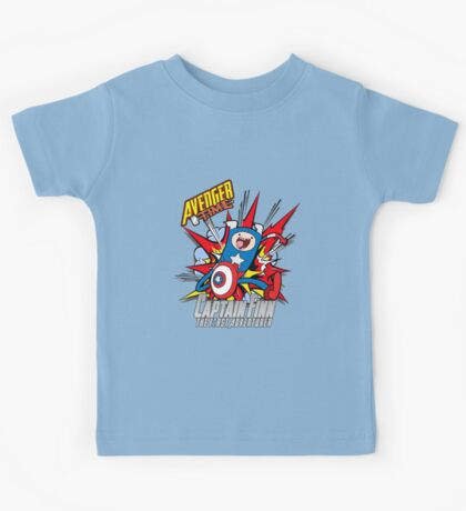 Captain Finn the First Adventurer Kids Tee