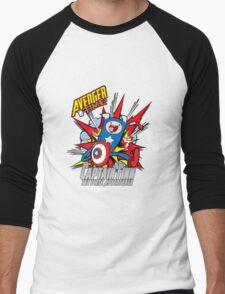 Captain Finn the First Adventurer Men's Baseball ¾ T-Shirt