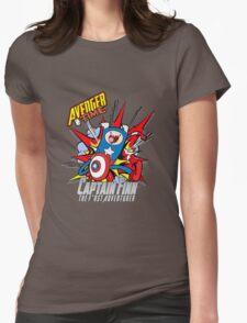 Captain Finn the First Adventurer Womens Fitted T-Shirt