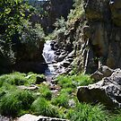 Purgatory Waterfall, Region of Madrid, Spain by MONIGABI