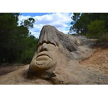 Stone sculpture Photographic Print