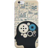 Schedule a head iPhone Case/Skin