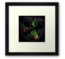 Fruit Bats Framed Print