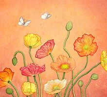 Poppies for my Grandfather by Laura Grogan