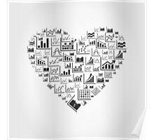 Schedule heart Poster