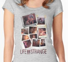 Life is (hella) Strange Women's Fitted Scoop T-Shirt