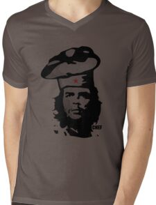 Chef Guevara Mens V-Neck T-Shirt