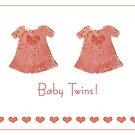Baby girl twins by Gillian Cross