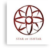 Star of Ishtar - Blood Edition Canvas Print