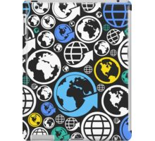 World a background iPad Case/Skin