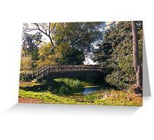 Countryside Bridge Greeting Card